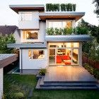 How to convert 5 shipping containers into a cozy modern home.