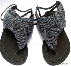 Maasai sandals Masai sandals Beaded sandals Women sandals