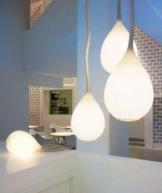 luminaires design pas cher, lustres modernes idees pour le salon chic