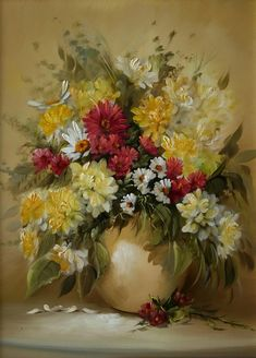 Colorful Summer Bouquets by Széchenyi Szidónia