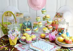 Easter Tablescape / Easter Baking with Cost Plus World Market - Flour On My Face >>  #WorldMarket Easter Style Hunt Sweepstakes. Enter to win a 1K World Market gift card.
