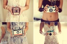 Love the vintage cameras used in these shots-I'm starting a collection.