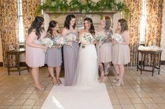 Photo by Brandi of Ashelle Photography. Chelsea & her Brides Maids May 7, 2016 YWCA Downtown Fort Worth, Texas Historic Building