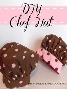 DIY Chef Hat