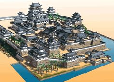 Structure of Japanese Castle