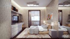 Комфортный отдых: интерьер, зd визуализация, квартира, дом, спальня, современный, модернизм, 10 - 20 м2, интерьер #interiordesign #3dvisualization #apartment #house #bedroom #dormitory #bedchamber #dorm #roost #modern #10_20m2 #interior arXip.com
