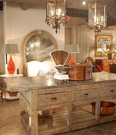 Vieux Interiors on The Red Vault