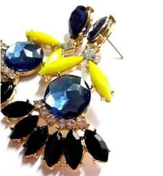 Glamour Girl Designs #vintage-style pierced #earrings