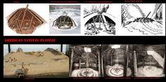 Le abitazioni dei popoli del Plateau variavano per tipo a seconda delle stagioni, delle etnie e delle zone. Nella parte nordoccidentale del plateau, Shuswap, Nlaka'pamux, Okanogan,St'at'imc usavano dimore invernali semisotterranee (case pozzo) a pianta circolare. Scavate per una profondità di circa 2 mt. e 4-10mt. di diametro ospitavano una o 2 famiglie. L'ingresso si apriva di solito, ma non sempre, sul soffitto, accessibile per mezzo di una scala.