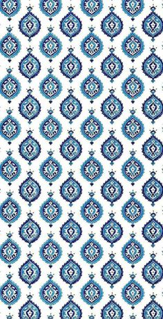 Martyn Lawrence Bullard for Schumacher Wallpaper Taj Trellis in Jaipur Blue Peacock Wallpaper, Wallpaper Roll, Pattern Wallpaper, Print Wallpaper, Blue Wallpapers, Wallpaper Backgrounds, Pattern Art, Pattern Design, Islamic Art