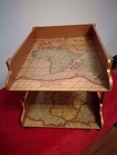 Decoupage, Tray, Home, Ad Home, Trays, Homes, Haus, Board, Houses