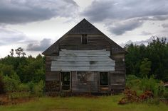 Abandoned Church Near Hiltonia Screven County GA Photograph Copyright Brian Brown Vanishing South Georgia USA 2015