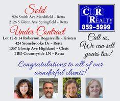 Missouri Real Estate, Countryside, Congratulations