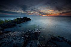 Lake Champlain, VT  (as seen from Burton Island)