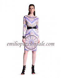 EMILIO PUCCI Pavimento Print Patterned Shift Dress