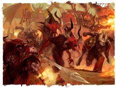 khorne :: Chaos (Wh 40000) :: Warhammer 40000 :: сообщество фанатов / красивые картинки и арты, гифки, прикольные комиксы, интересные статьи по теме.