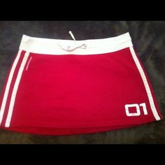 Skirt Sweatshirt material skirt, fun for everyday! Abercrombie & Fitch Skirts