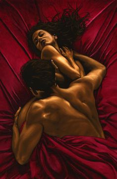 Black Art African American Ill kiss every part of you.