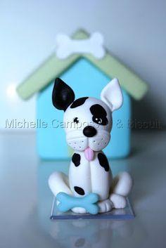 Michelle Campos Art & Biscuit: Cachorrinho