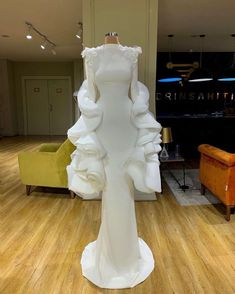 I might use one of these dresses or all of em, but I don't know who I wanna write em for. The general idea is the reader is wearing the dress so the seamstress can get the measurements correct for. Glam Dresses, Event Dresses, Pretty Dresses, Fashion Dresses, White And Silver Dress, Silver Gown, Insta Look, Dream Wedding Dresses, Beautiful Gowns