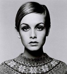 Twiggy was the standard of beauty in the 60's.  It was shocking to see a girl with hair this short.  I though she was beautiful.