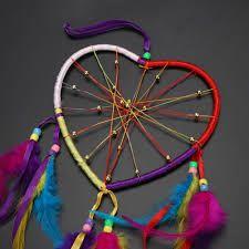 Resultado de imagen para como hacer un atrapasueños en forma de corazon Ferris Wheel, Ideas, Moon Dreamcatcher, Heart Shapes, Mandalas, Hearts, Blue Prints, Manualidades, Thoughts