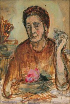 Marie-Louise von Motesiczky (Austria 1906-1996 England), Portrait of Suzanne van Thijn. Collection Marie-Louise von Motesiczky Charitable Trust.