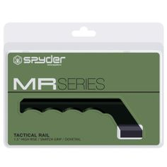 Spyder MR1 MR Series Paintball Tactical Rail - Black. Available at Ultimate Paintball!  http://www.ultimatepaintball.com/p-927-spyder-mr1-mr-series-paintball-tactical-rail-black.aspx