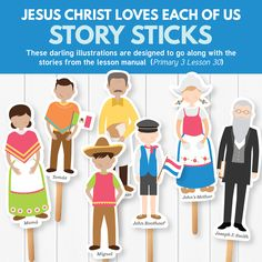 Jesus Christ Loves Each of Us - Powerful stories and illustrations about Christ's love! (Primary 3 Lesson 30)