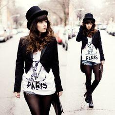 chapéu à la ~panic at the disco~ + LV Paris