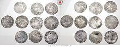 RITTER Jülich-Kleve-Berg, Wilhelm I. - Wilhelm V., 10 Münzen 1296-1592 #coins