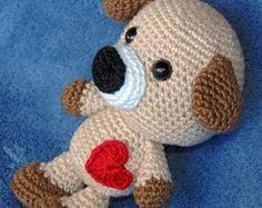 Amigurumi de Crochê (Cãozinho baby)