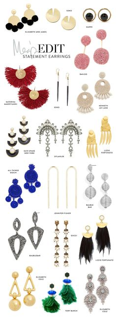 19 Pairs of Statement Earrings