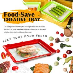 Food-Save Creative Tray – summerde