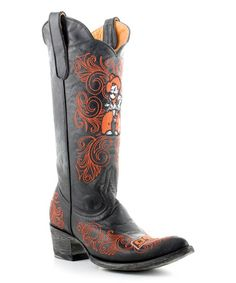 Gameday Boots Oklahoma State Cowboys Leather Cowboy Boot - Women | zulily