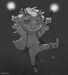 2d Character, Cute Anime Character, Fandoms, Demon Baby, Monster Boy, St Street, Doodle Sketch, Cute Doodles, Illustration Artists