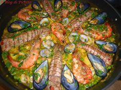 Il Blog di Picetto: PAELLA MARINARA ricetta dello chef Rodrigo Werner De Oliveira