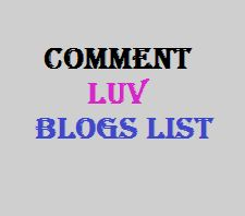 Commentluv enabled blogs are really useful for getting two back links just by making 1 comment only. Thanks.