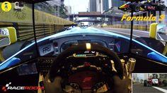 RaceRoom [MotionSIM] - Formula RR 3 @ Macau  [Fanatec | GoPro]