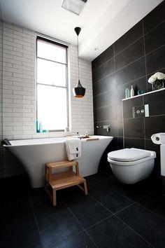 Dani and Dan's bathroom The Block 2012 The Block Bathroom, White Bathroom Tiles, Bathroom Renos, Laundry In Bathroom, Bathroom Ideas, White Bathrooms, Family Bathroom, Downstairs Bathroom, Bathroom Renovations