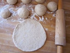 Homemade Simple and Fun Pita Bread Recipe - Budget Bytes Homemade Pita Bread, A Food, Food And Drink, Just Eat It, Greek Recipes, Budget Meals, Delish, Easy Meals, Cooking Recipes