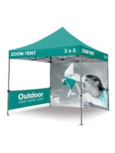 Namiot reklamowy 3x3m z nadrukiem indywidualnym