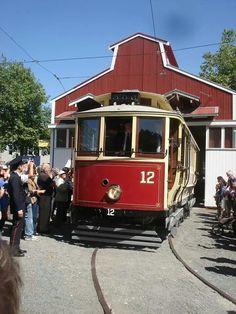 Tram/Cable Car. Whanganui/Wellington New Zealand