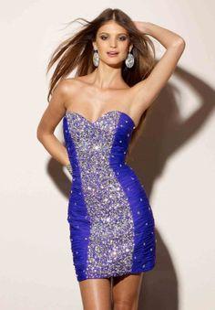 Hermosos vestidos de despedida de soltera   Moda 2014