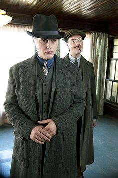 Michael Pitt (Jimmy Darmody) & Jack Huston (Richard Harrow)