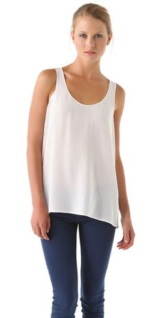Vince Silk Tank - I love these - in a less expensive version!!