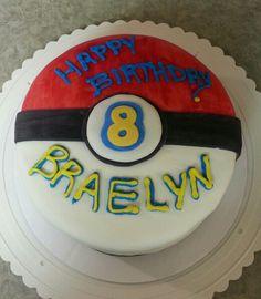 Pokemon cake for lances birthday...hopefully i can make this lol