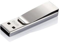 Tag USB Stick, 8 GB, silber | Werbeartikel und Werbemittel zum Bedrucken mit Logo | KUK GmbH