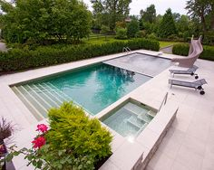 ALKA POOL - Hydromatic Automatic pool covers come in a variety of colors for to customize your backyard retreat.
