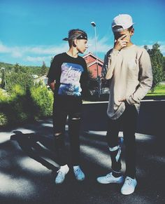Astrid and Gia are best friends. At school, they are the smartest and the inseparable. If Astrid jumps off a cliff, so will Gia and everyone knows if you mess. Emilio And Ivan Martinez, Love Twins, Are You Ok, Twin Brothers, Girl Power, Norway, Cool Pictures, Best Friends, Hipster